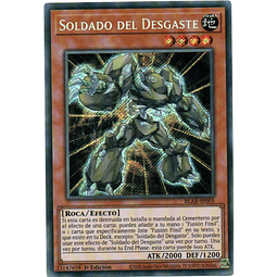 Soldado Del Desgaste Carta yugioh BLAR-SP005