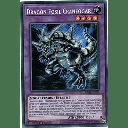 Dragon Fosil Craneogar Carta yugioh BLAR-SP010