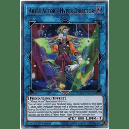 Abyss Actor - Hyper Director Carta yugioh DUOV-EN022