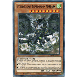 World Legacy Guardragon Mardark Carta Yugi MP20-EN058