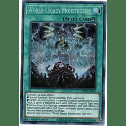 World Legacy Monstrosity Carta Yugi MP20-EN076