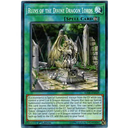 Ruins of the Divine Dragon Lords Carta Yugioh SDRR-EN029