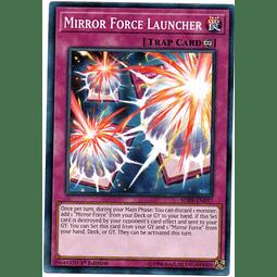 Mirror Force Launcher Carta Yugioh SDRR-EN037