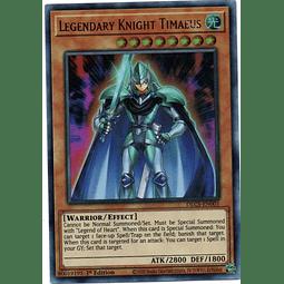 Legendary Knight Timaeus Carta yugi DLCS-EN001