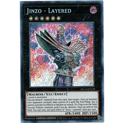 Jinzo - Layered Carta yugi DLCS-EN149