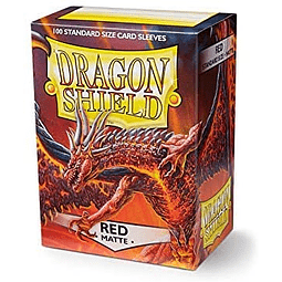 Micas Dragon Shield Standard Red - 100 Sleeves