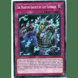 The Phantom Knights of Lost Vambrace Carta yugioh LEHD-ENC28