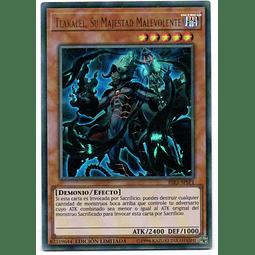 Tlakalel, Su Majestad Malevolente Carta yugi RIRA-SPSP1