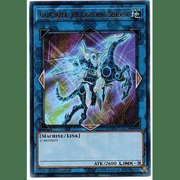 Gaia Saber, the Lightning Shadow Carta Yugi DUDE-EN022