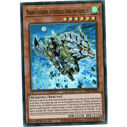 Gizmek Makami, the Ferocious Fanged Fortress Yugi Español PHRA-SP022
