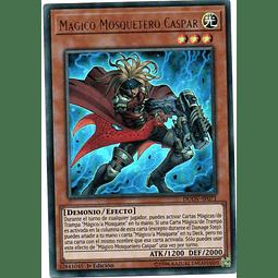 Carta Yugi Mágico Mosquetero Caspar DUOV-SP071