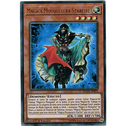 Carta Yugi Mágica Mosquetera Starfire DUOV-SP072