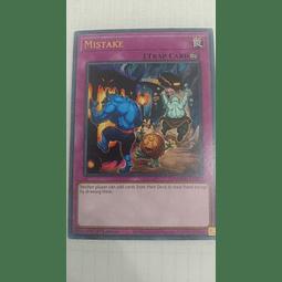 Mistake Cartas yugi MAGO-EN077
