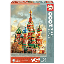 Rompecabezas - World Heritage  St Basil´s Cathedral, Moscow