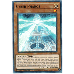 x3 Cyber Pharos carta yugi LDS2-EN031