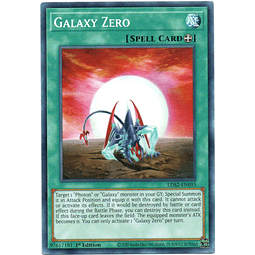 x3 Galaxy Zero carta yugi LDS2-EN055