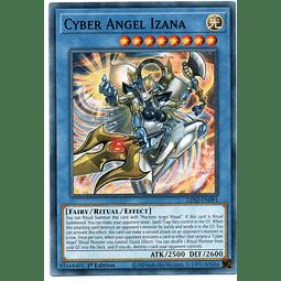 x3 Cyber Angel Izana carta yugi LDS2-EN091