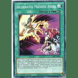 x3 Incarnated Machine Angel carta yugi LDS2-EN093