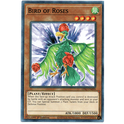 x3 Bird of Roses carta yugi LDS2-EN099