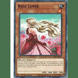 x3 Rose Lover carta yugi LDS2-EN102