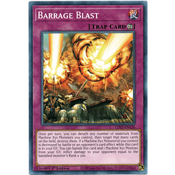 x3 Barrage Blast carta yugi LDS2-EN126