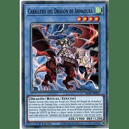 x3 Knight of Armor Dragon Carta yugi BLVO-SP037