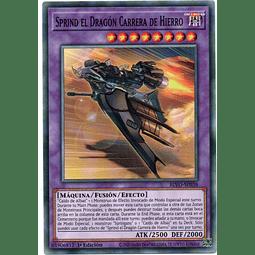 x3 Sprind the Irondash Dragon Carta yugi BLVO-SP038