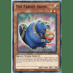 x3 The Fabled Abanc Carta yugi BLVO-EN019