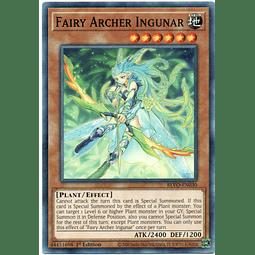 x3 Fairy Archer Ingunar Carta yugi BLVO-EN030