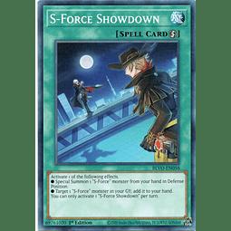 x3 S-Force Showdown Carta yugi BLVO-EN058