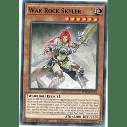 x3 War Rock Skyler Carta yugi BLVO-EN096