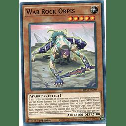 x3 War Rock Orpis Carta yugi BLVO-EN095