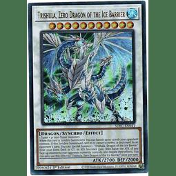 Trishula, Zero Dragon of the Ice Barrier Carta Yugioh SDFC-EN041