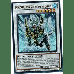 Dewloren, Tiger King of the Ice Barrier Carta Yugioh SDFC-EN042