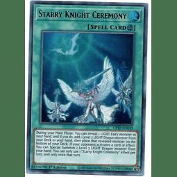 Starry Knight Ceremony Carta yugi GFTP-EN033
