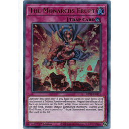 The Monarchs Erupt Carta yugi GFTP-EN121