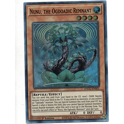 Nunu, the Ogdoadic Remnant Carta yugi ANGU-EN001