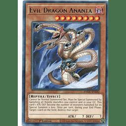 3x Evil Dragon Ananta Carta yugi ANGU-EN042