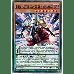 D/D/D Supersight King Zero Maxwell Carta Yugi LIOV-SP095