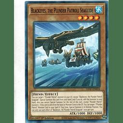 Blackeyes, the Plunder Patroll Seaguide Carta Yugi LIOV-EN018