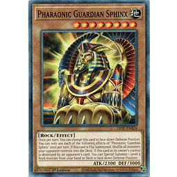 Pharaonic Guardian Sphinx Carta Yugi LIOV-EN024