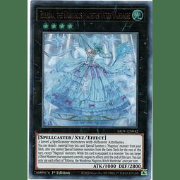 Rilliona, the Wondrous Magistus Witch Wardrobe Carta Yugi LIOV-EN042