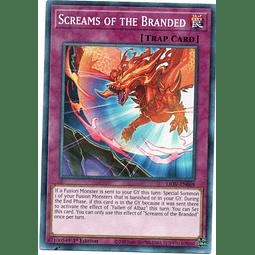 Screams of the Branded Carta Yugi LIOV-EN068