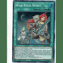 War Rock Spirit Carta Yugi LIOV-EN090