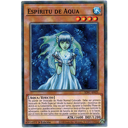 3x Aqua Spirit Carta Español Yugi SDFC-SP021