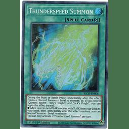 Thunderspeed Summon carta yugi KICO-EN006