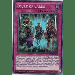 Court of Cards carta yugi KICO-EN008