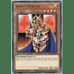 3x King's Knight carta yugi KICO-EN027