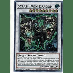 Scrap Twin Dragon carta yugi KICO-EN038