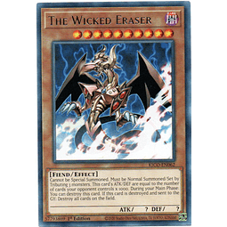 The Wicked Eraser carta yugi KICO-EN062